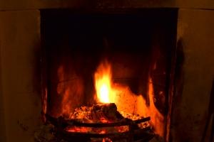 Fireplace - Long Exposure 1