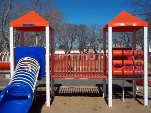 Playground In Blue And Orange