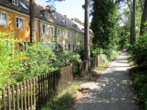 Rural Berlin Street Scenery
